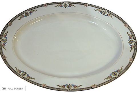 Vintage Oval Noritake Platter - Studio Lane at Reposed NY Vintage Home Decor