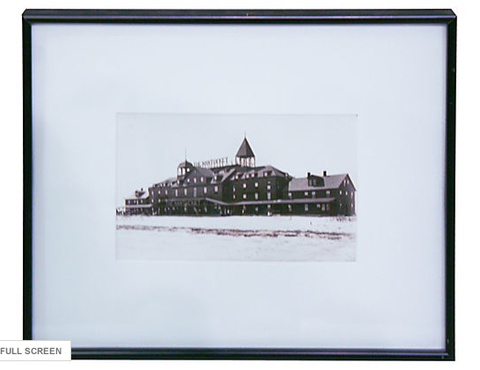 Antique Photo - Nantucket Hotel, Framed