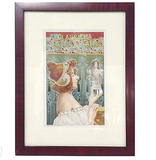 Antique French Poster, Framed