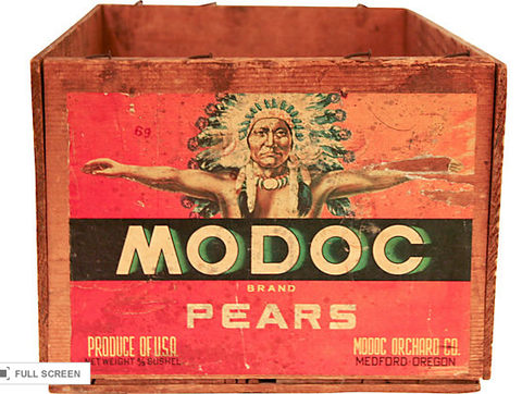 Indian Chief Fruit Box