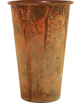 Old Copper Vase