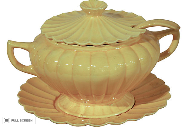 Vintage California Pottery Tureen