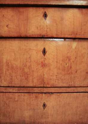 1830's Antique Swedish Chest of Drawers