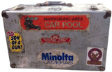 Vintage Aluminum Case with old Stickers