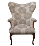 Vintage Butterfly Wing Back Chair