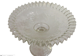 Vintage Cut Glass Compote Dish - Studio Lane at Reposed NY Vintage Home Decor
