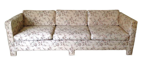 "mid century large 90"" sofa - couch"
