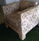 In need of Restoration - Mid Century Chair and Ottoman