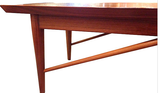 Mid Century Drexel Heritage Walnut Coffee Table