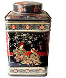 Vintage Asian Tin - Studio Lane at Reposed NY Vintage Home Decor