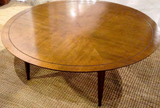 Mid Century Round Cocktail, Coffee Table - Studio Lane at Reposed NY Vintage Home Decor