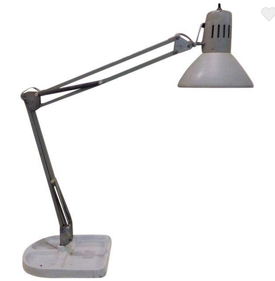 Mid century Industrial Machinists Lamp