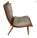 Mid Century Carter Brothers Scoop Chair