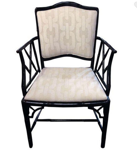 Mid Century Fretwork Chippendale Chair