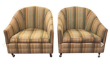 Pair, Mid Century Club Chairs by Nemschoff
