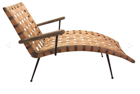 Mid Century Tropitone Chaise Lounge