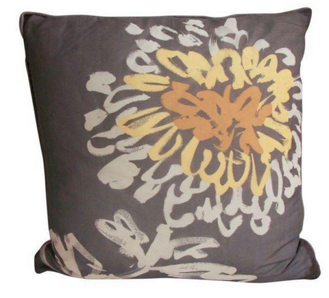 New Pillow  - Vintage Silk Fabric - Studio Lane at Reposed NY Vintage Home Decor