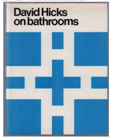 Mid Century David Hicks Book - David Hicks on Bathrooms