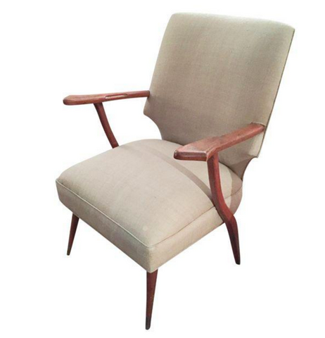 Mid Century Edward Wormley Lounge Chair