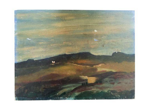 WPA Era Oil Painting - Landscape