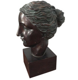 Vintage Bust, Statue of A Woman