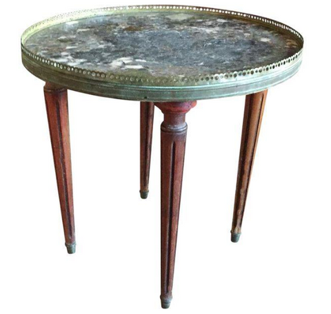 Antique Louis XVI style Bouillotte Table