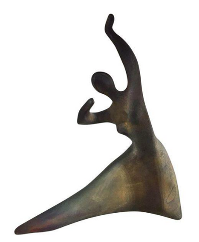 Vintage, Zaro Sculpture - Dancing Woman, Signed
