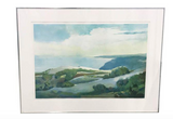 Numbered, Dated Lithograph Landscape Print - Signed, Moxon, - Ever/Always