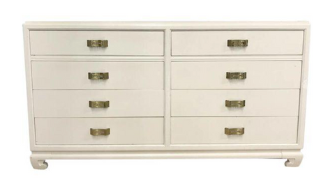 Mid Century R Way Hollywood Regency - Chinoiserie Chest of Drawers