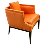 Mid Century Occasional Chair in Orange