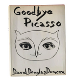 1974 First Edition Goodbye Picasso Book With Dust Jacket
