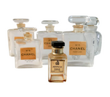 Vintage Collection of Perfume Bottles - Chanel, Givenchy, Lanvin