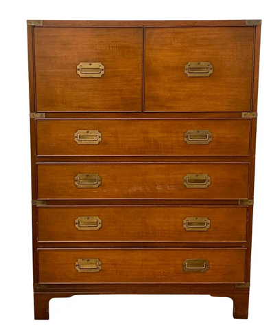Campaign Chest of Drawers, Dresser
