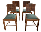 Set of 4 Art Deco Chairs