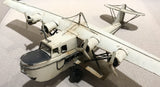 1940's Metal Model Airplane - Display Piece