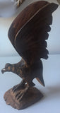 Hand Carved Iron Wood Eagle & Birds - Set of 3