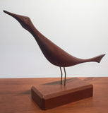 Danish Modern Teak Bird Sculpture