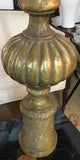Mid Century Large Heavy Gilt Lamp