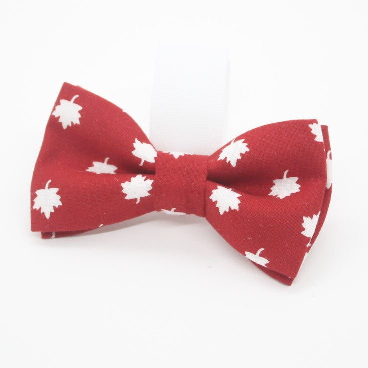 Red Maple Pet Bow