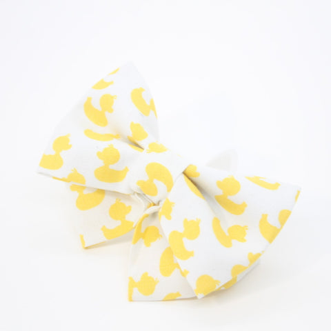 Yellow Duck Pet Bow