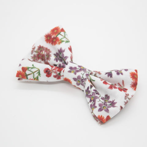 Floral Hair Bow (Large)