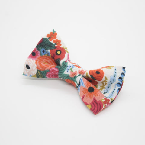 Rifle Paper Floral Hair Bow (Small)