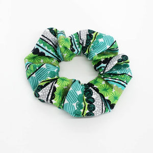 Fine Lime Scrunchie