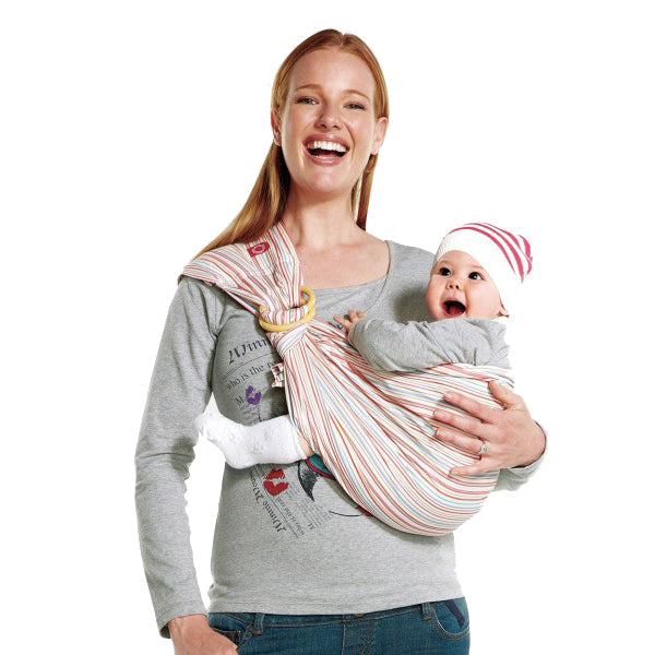 Load image into Gallery viewer, Mamaway Neopolitan Baby Ring Sling
