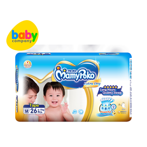 MamyPoko Extra Dry Taped Diapers Medium 26s