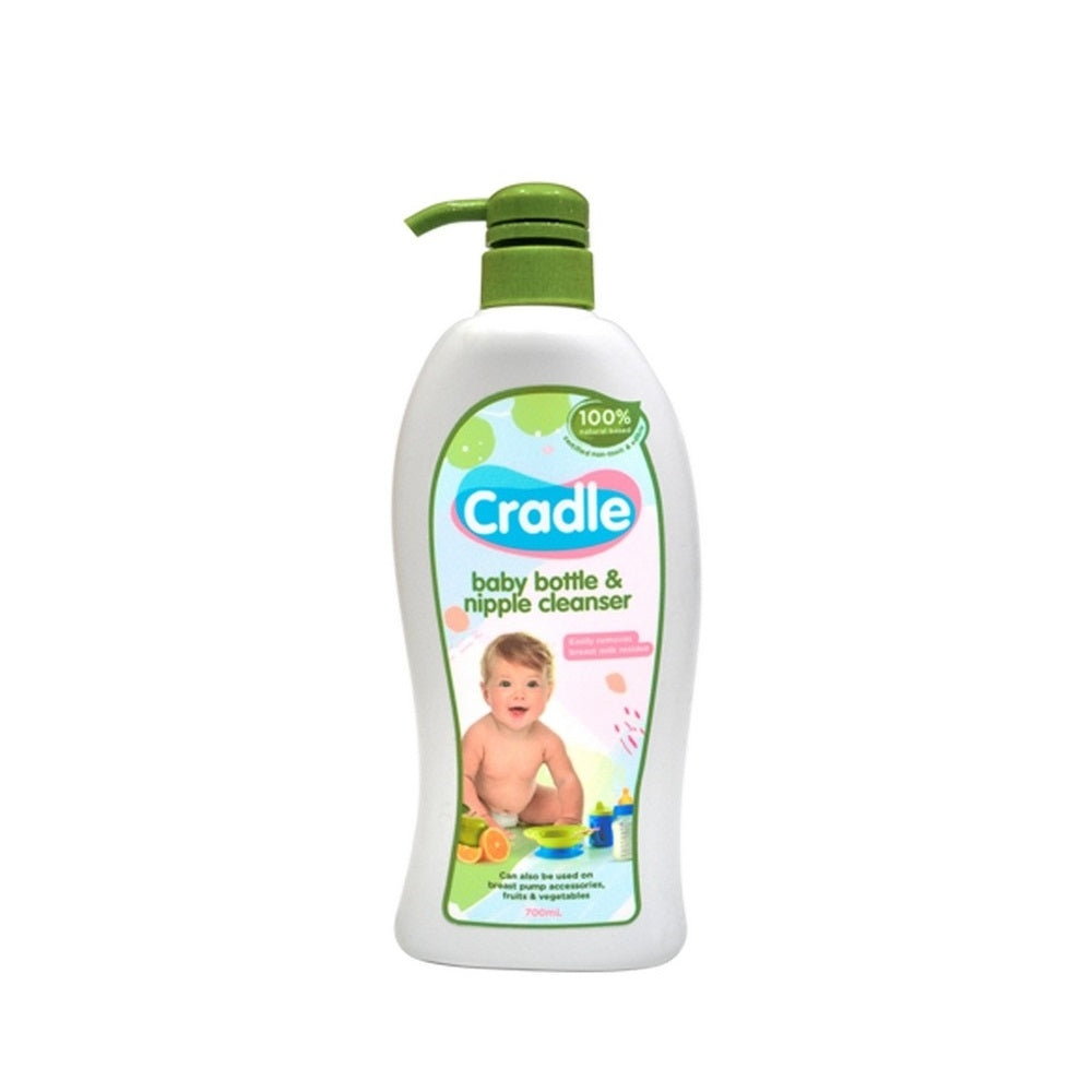Load image into Gallery viewer, Cradle Natural Bottle & Nipple Cleanser 700ml