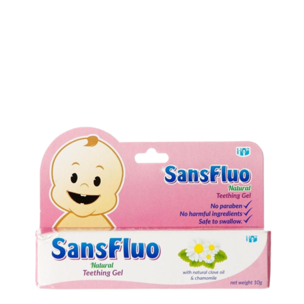 Sansfluo Teething Gel 10ml