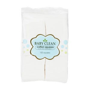 Baby Clean Cotton Square Pads