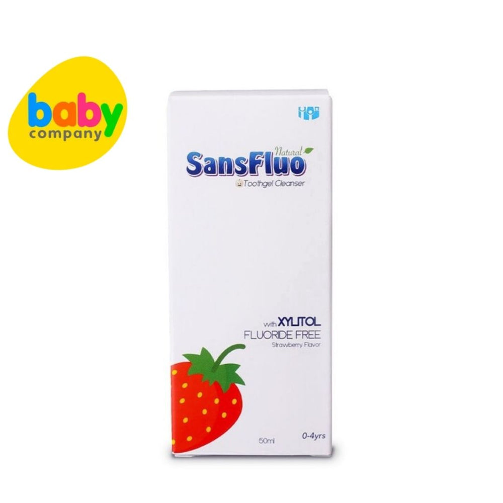 Sansfluo Toothgel Cleanser Strawberry 50ml