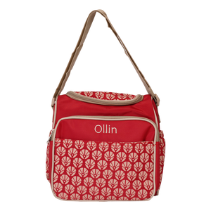 Ollin Two-way Handle Diaper bag, Red